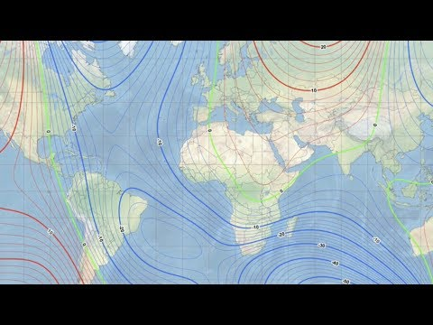 Scientists scramble to keep up with earth's changing magnetic North Pole