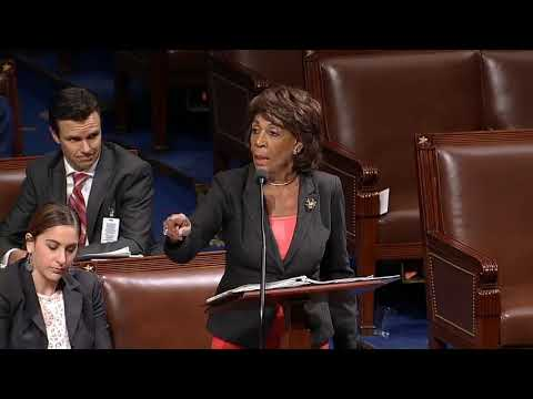 CONGRESS WOMAN MAXINE WATERS LASHES OUT ON REPUBLICAN