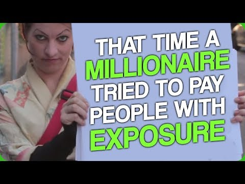 That Time a Millionaire Tried to Pay People with Exposure (The YouTube Monetisation Change)