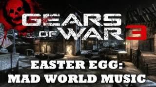 Gears of War 3 Easter Egg: Secret Song (Mad World) on Gridlock [HD]