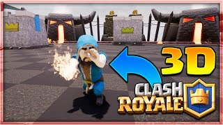 """YOU CAN PLAY """"Clash Royale"""" in 3D!   NEW VIRTUAL REALITY GAME MODE! (INSANE)"""