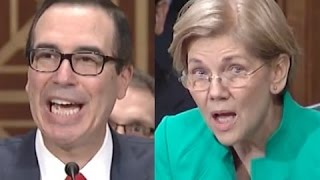 Elizabeth Warren CRUSHES Steven Mnuchin for Refusing to Regulate His Big Banker Cronies