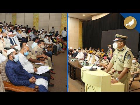 Coordination meeting held ahead of Eid-ul-Adha in Hyderabad