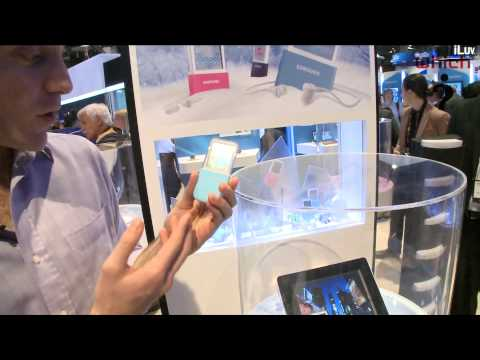 Which?: Samsung Ice Touch transparent MP3 player at CES 2010
