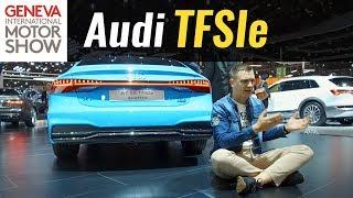 Все Audi станут гибридами? Что такое TFSIe?