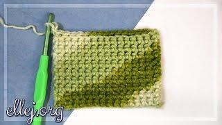 Плотный двойной узор крючком. Double Thick Crochet Technique