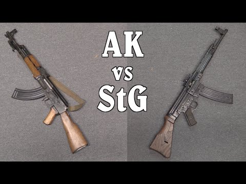 Kalashnikov Vs Sturmgewehr!