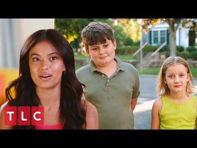 Juliana Meets Michael's Kids! | 90 Day Fiancé