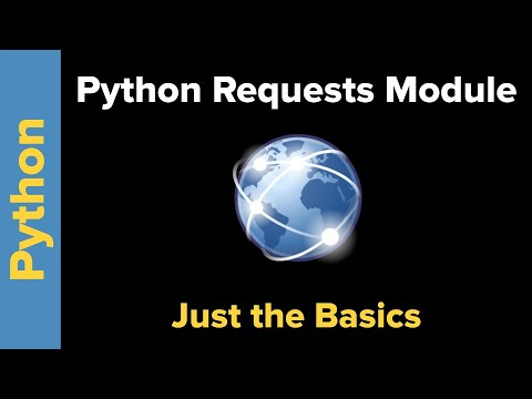 Python Requests Module: Just the Basics