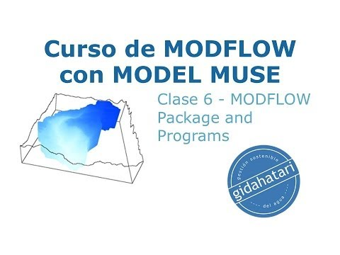 Curso MODFLOW Cl-6 MODFLOW Package and Programs, Parameters, Name File, Observation File