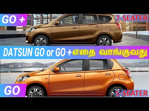 Datsun GO & GO+, which One to Buy | @ Wheels On Review