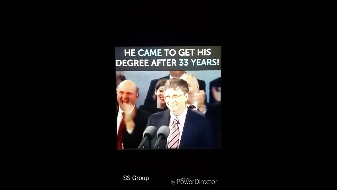 funny     why bill gates requires a resume