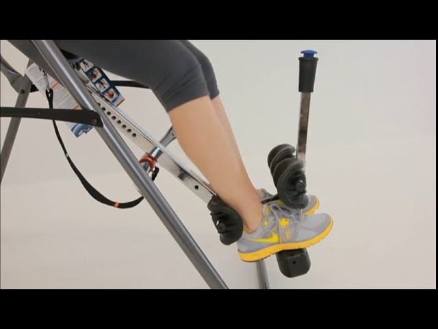 Securing Ankles (X3 Models) | FitSpine X Series