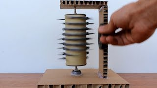 Free Energy Science Experiments Screw Motor Using Magnet