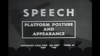 MST3K - Speech: Platform Posture and Appearance
