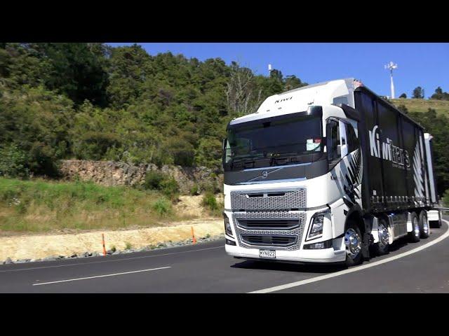 Truck Test | Volvo FH16 600 8x4 rigid with wireless bluetooth trailer | Gap Analysis