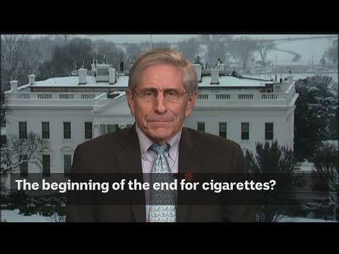 The beginning of the end for cigarettes?