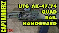 UTG AK-47/74 Quad-Rail Handguard