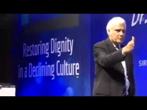 Ravi Zacharias @ New Delhi    Restoring dignity in a declining culture  Low 360p