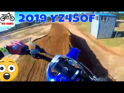 Repeat 2019 Yamaha YZ450F Test Ride - It's a BEAST by Zach
