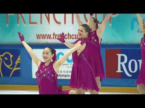 French Cup 2018 – Les Lexettes, 3ème du programme libre junior