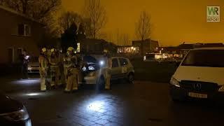 Voertuigbrand Fazantlaan Honselersdijk