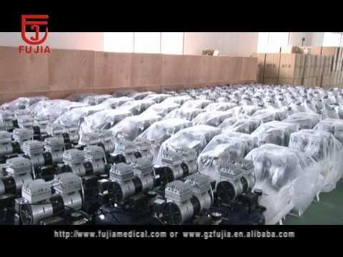 dental products,oil free air compressor,dental chair/unit manufacturer ,.avi