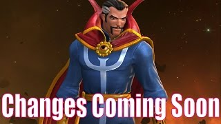MARVEL: Contest of Champions (iOS/Android) Doctor Strange Changes Coming Soon