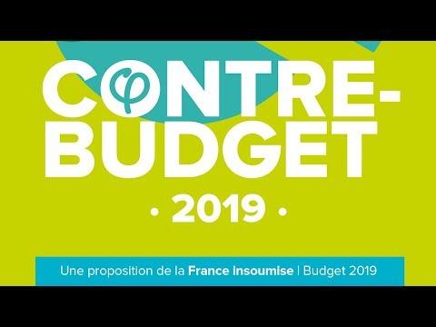 EN DIRECT - #ContreBudgetFi - Présentation du contre-budget de la France insoumise