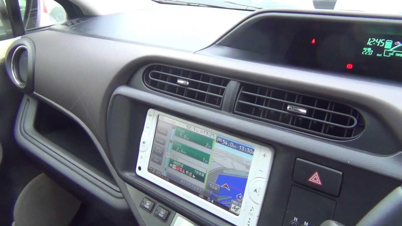 2013 Toyota Aqua Prius C Interior View Video Youtube