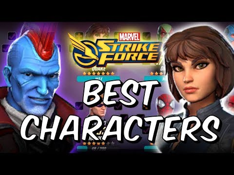 Best Characters Global Launch 2018 - Marvel Strike Force