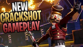 FORTNITE - New Crackshot Soldier Perks And Abilities (Save The World Gameplay)