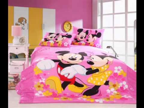 DIY Minnie mouse room decorating ideas - YouTube