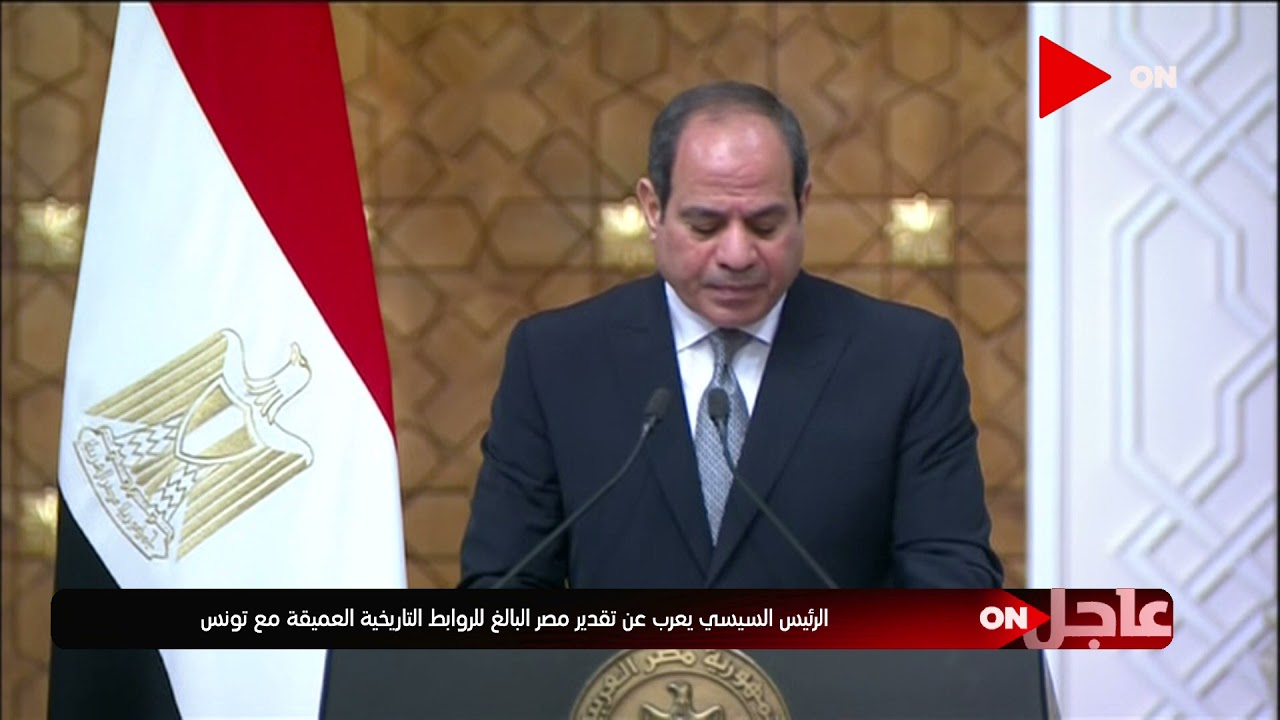 الرئيس السيسي: تم الإتفاق على إعلان عام 2021-2022 عام للثقافة المصرية التونسية