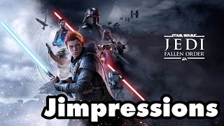 Star Wars Jedi: Fallen Order - Prepare To Jedi (Jimpressions) (Video Game Video Review)