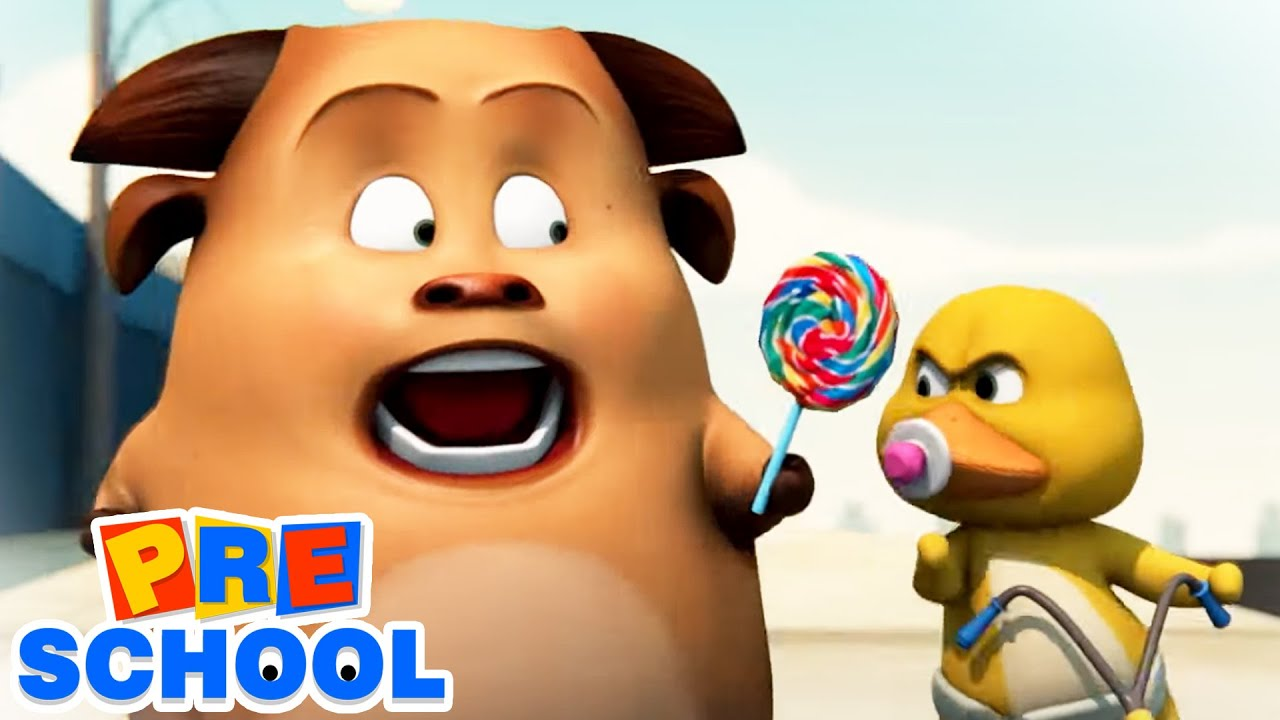 Gob and Friends - Candy | Cartoon Animated Videos For Babies | Funny Gags for Kids and Children