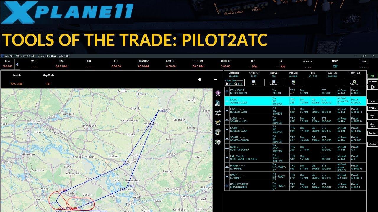 TOOLS OF THE TRADE: PILOT2ATC (ENGLISH)