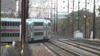 Evening Railfanning At Jersey Avenue 10-28-11 (With Meets Races And More)