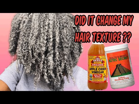 HOW I DEFINED MY 4C HAIR USING THE AZTEC CLAY MASK.