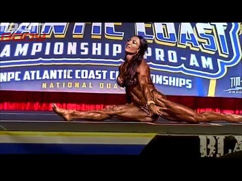 "2019 Atlantic Coast Pro Posing ""Valentina Mishina"""