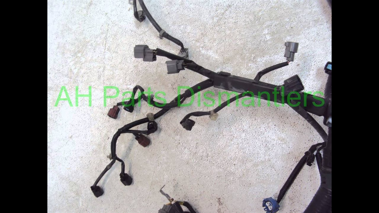 Honda Engine Wire Harness 25 Wiring Diagram Images 2002 Crv Ex4wd 5 Door 5mt Maxresdefault 2001 Accord At 32110 Paa A51 Ahparts 2003