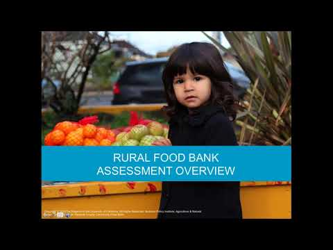Rural Food Banking  Challenges and Solutions in Transportation, Storage, and Distribution of Healthy
