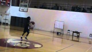 Colin Slater shooting Jumppers
