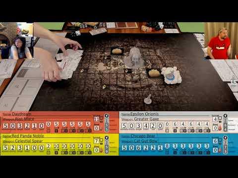 Hero Settlement #2.1 Part 34 - Hunt Gorm Level 1 - Kingdom Death Monster