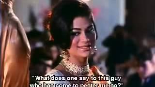 Yeh Kaun Aaya Lata Mangeshkar Film Saathi 1968 Naushad  Majrooh Sultanpuri