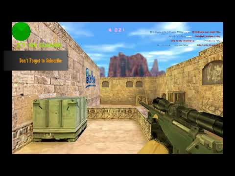 Counter Strike 1.6 - GunGame MOD - Gg_mini_dust2 - Gameplay - HD