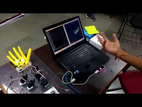 Sign language interpreter using leap motion sensor