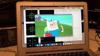Linux gnuradio QPSK DVBS PlutoSDR + rtl MacBook leansdr