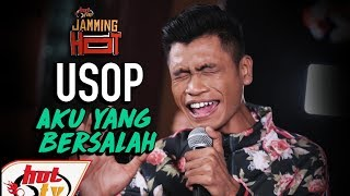Download USOP - AKU YANG BERSALAH - Jamming Hot (LIVE) Mp3