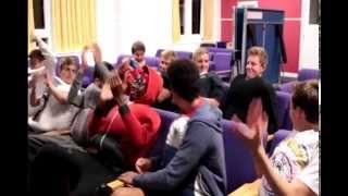Come Fly With Me/Little Britain - Gonville, Eastbourne College Year 11 video 2014 - Part 1